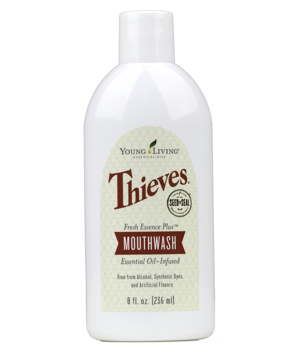 Ústní voda Thieves Fresh Essence Plus 236 ml
