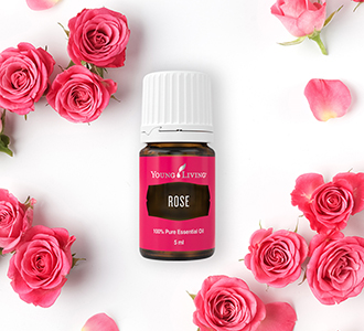 Růžový esenciální olej